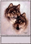Wolf Couple Sig Tag